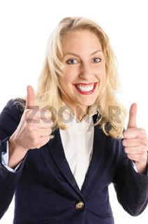 Attraktive junge Frau