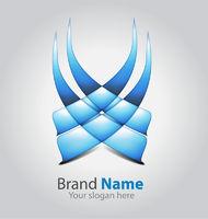 Abstract brand logo
