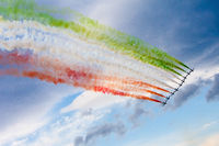 The Frecce Tricolori (MB339) Display
