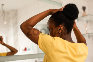 Everyday hair care routines for african girl