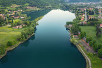 Nice aerial view of Endine Lake
