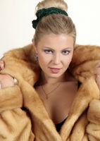 Woman in the fur