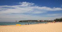 Beach in Manly, Australia. Surf spot.