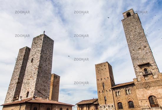 San Gimignano towers