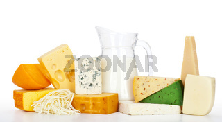 cheeses with milk