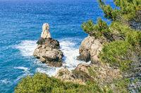 Cala Deia on the west coast of Majorca