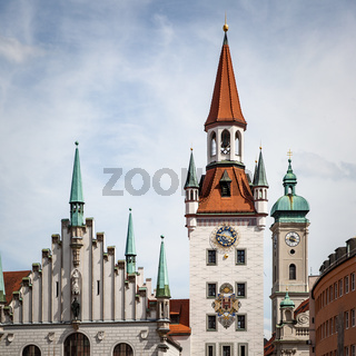 Towers of Old Town of Munich
