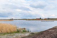 Nature park Blauwestad Groningen in the Netherlands