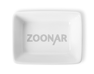 Square plate isolated
