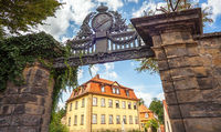 The Iron Gate in Bamberg Upper Franconia Bavaria