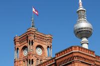Red City Hall 001. Berlin. Germany