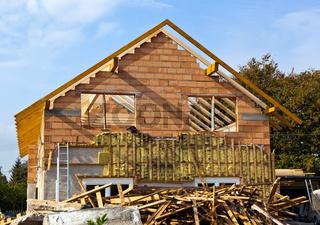 Altes Haus wird renoviert