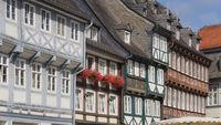 Goslar - Bunte Fachwerkhäuser, Deutschland