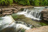 Aysgarth Falls, North Yorkshire, England