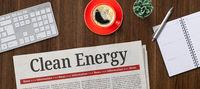 Newspaper on a desk -  Clean Energy