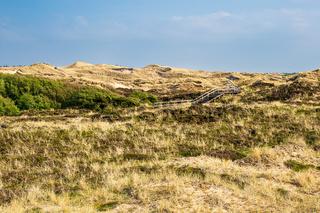 Landschaft in den Dünen bei Norddorf auf der Insel Amrum