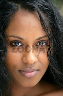 African woman head-shot