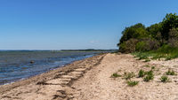 Baltic Sea Coast in Gollwitz, Mecklenburg-Western Pomerania, Germany