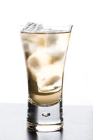 Beverage in a glass