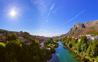 Cityscape of Mostar - Bosnia and Herzegovina