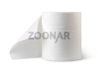 Rolls of paper towels