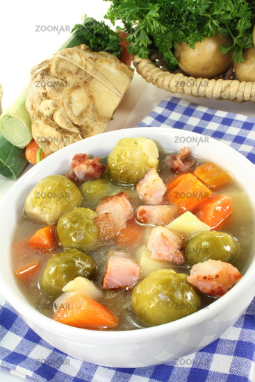 brussels sprouts stew