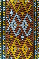 The traditional pattern of small chinese local tribe on Hainan island