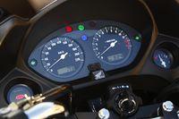 Honda CBF 600, cockpit, instruments