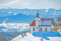 Ökumenische St. Hubertuskapelle Forst bei Scheidegg im Allgäu
