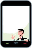 Smartphone Speech Bubble