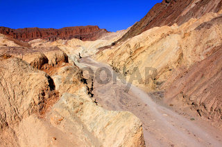 Golden Canyon of Death Valley