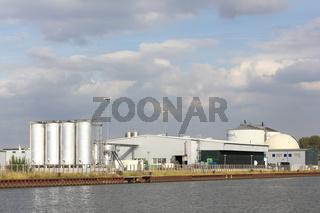 Biogasanlage der ReFood GmbH in Genthin