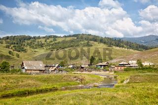 Altai village