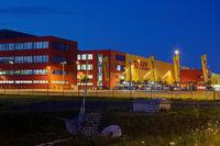 Warehouse of the DHL Hub Leipzig