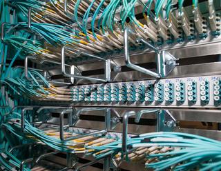 IT Server Shared Virtual CLoud LWL Patchfeld