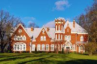 Red brick palace