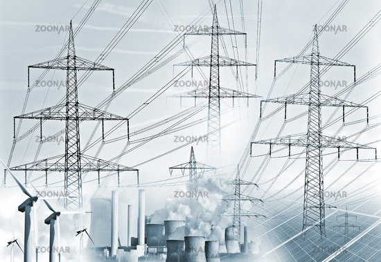 Power generation and electricity transmission