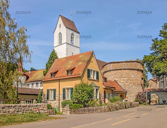 Reformed Church, Stapferhüsli and Archive Tower, Brugg, Switzerland