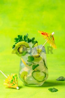 Ice cold summer lemonade.