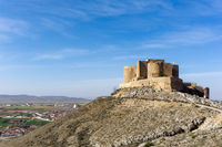 the castle of Consuegra in La Mancha in central Spain