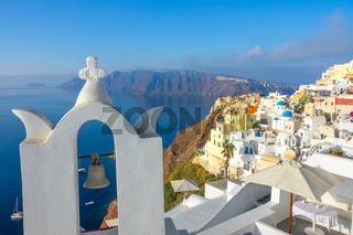 Church Bell and Santorini Terraces