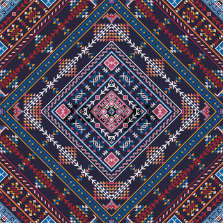 Georgian embroidery pattern 10