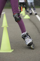 Learn to ride inline skates