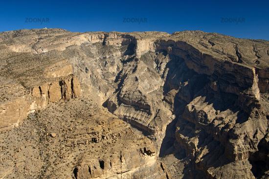 Grand Canyon of Oman, Al Hajar Mountains,Oman