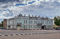Uspenskaya square in Uglich, Russia