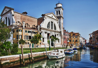 Canal di San Trovaso - HDR Version