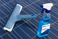 Solar cells and cleaning agents - english