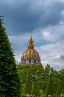 View of the Hotel Invalides from the Summer Garden
