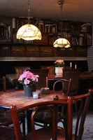 intereor of a bar
