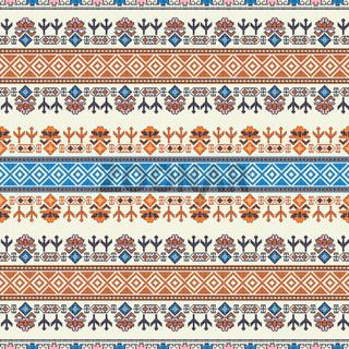 Georgian embroidery pattern 14